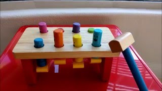 Melissa and Doug Deluxe Pounding Bench Toy Review