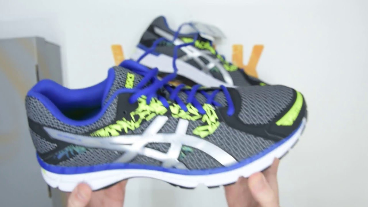 Asics Gel-Oberon 10 - Black / Silver / Blue - Walktall | Unboxing | Hands on