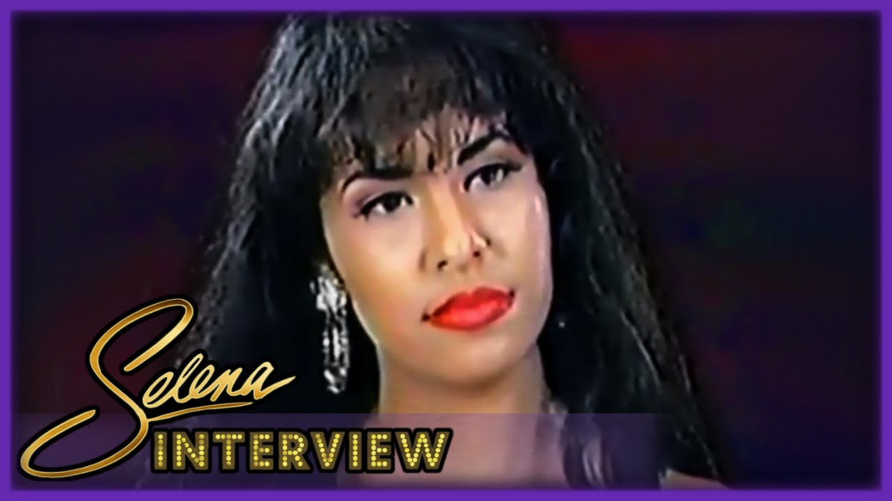 selena interview lubbock texas 1994 restored youtube