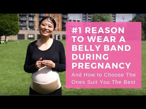 #1 Reason to Wear Pregnancy Belly Support / Maternity Belt & How to Choose The Best Ones For You