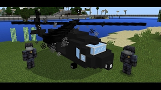 BLACK HAWK ADDON | MCPE