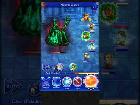 FFRK   Torre de Cristal - 1era Planta   Hades