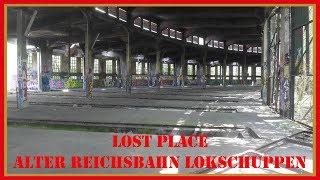 Lost Place: Reichsbahn Lokschuppen