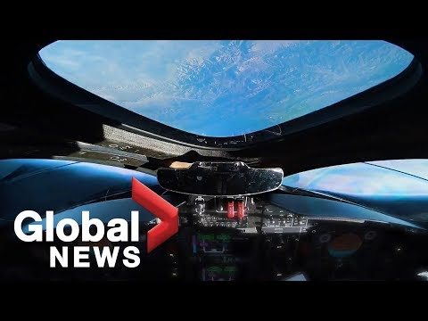 "Virgin Galactic ""SpaceShipTwo"" reaches space during test flight"