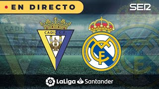 ⚽️ Cádiz 0 - 3 Real Madrid | La Liga en vivo