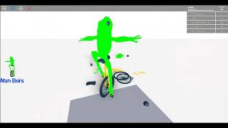 Kiker game in Roblox where your on and weird thing sits Thijs Brother 2 Roblox