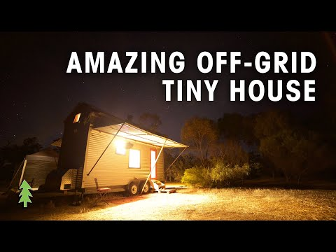 Take a Tour of an Amazing Off the Grid Tiny House on Wheels