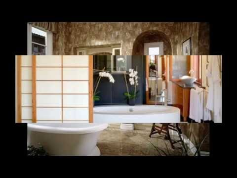 Stunning Japanese style bathroom design