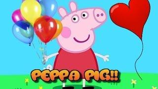 Piscina de Bolas con Sorpresas y Juguetes!!! Peppa pig Ballons and Surprises!!