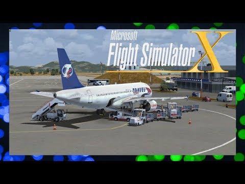 FSX:SE | A320 X Travel Service | Kos - Brno | QS1425