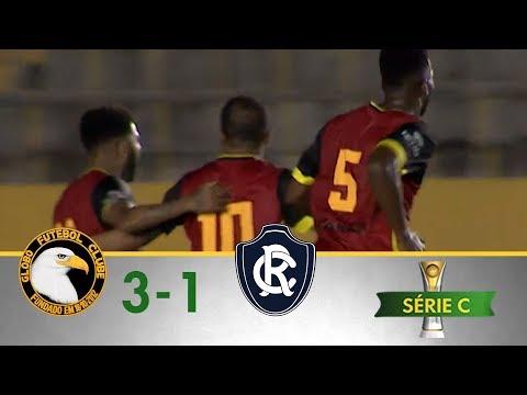 Melhores Momentos - Globo 3 x 1 Remo - Campeonato Brasileiro Série C - (24/06/2018)