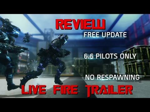 Titanfall 2 Live fire Review/analisis en español