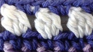Crochet Cluster Stitch - Learn Pattern from Maggie Weldon