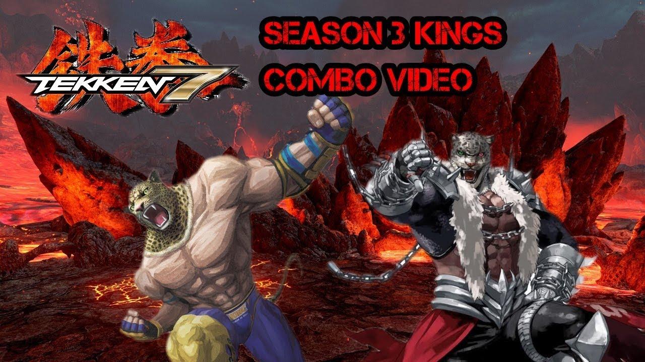 TEKKEN 7 SEASON 3 COMBO VIDEO - KING AND ARMOR KINGS NEW TOOLS!!