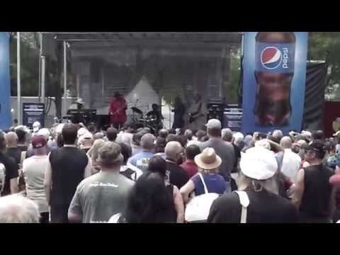 Lurrie Bell at Chicago Blues Festival 2015 Part 1
