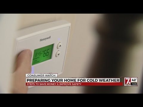 Cold weather cost saving steps to protect your home and lower heating bills
