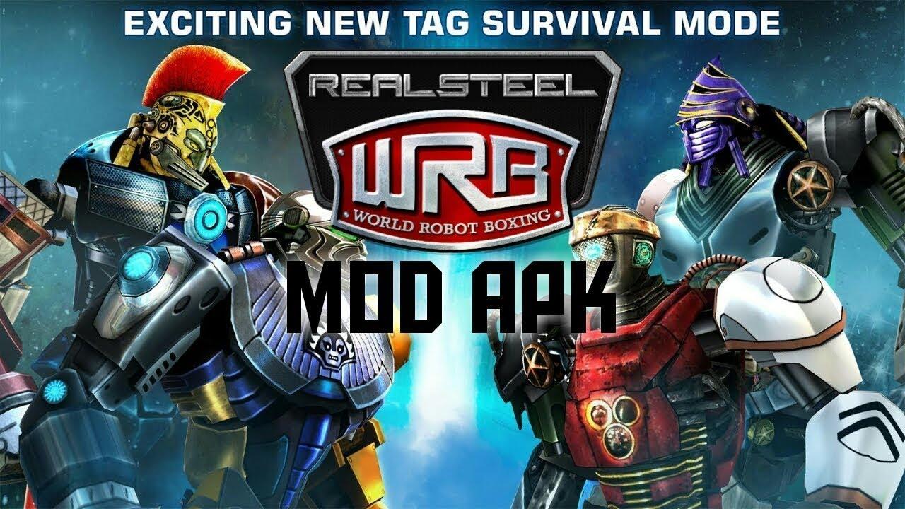 download real steel apk game