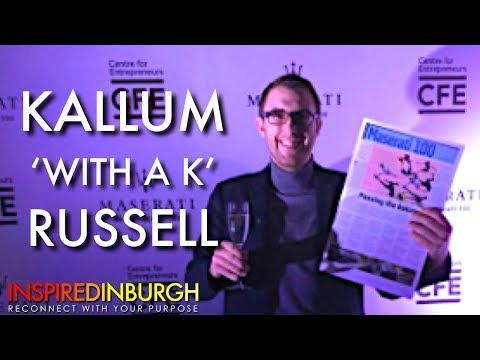 Kallum 'with a K' Russell - Growing Scotland's Start-up Culture | Inspired Edinburgh
