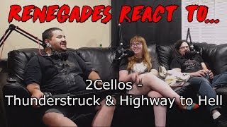 Renegades React To 2cellos Thunderstruck Highway To Hell