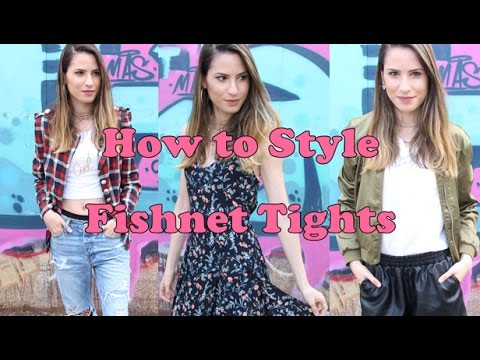 How To Style - Fishnet Tights