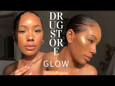 Full Face Drug Store | Flawless Glowly Beat! | LovelyBryana
