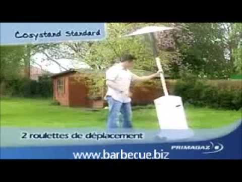 parasol chauffant primagaz youtube. Black Bedroom Furniture Sets. Home Design Ideas