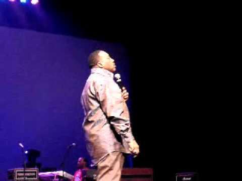 "Marvin Sapp sings ""Let Go and Let God"" LIVE in concert."