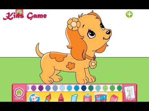 çilek Kız Mükemmel Köpek Doktor Boyama Kids Game Youtube