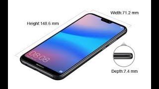 First Look Huawei Nova 3e New Smartphone 2018   HUAWEI nova 3e hands on review