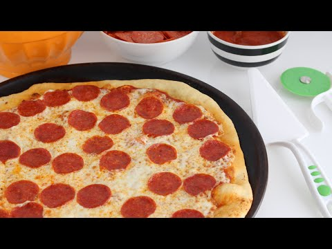 How to Make Homemade Pizza from Scratch (Pizza Dough Recipe)