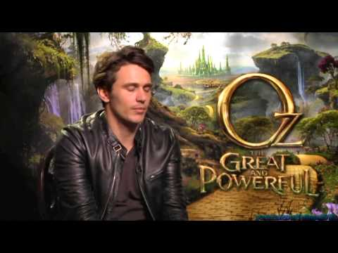 Oz The Great and Powerful Generic Interview - James Franco