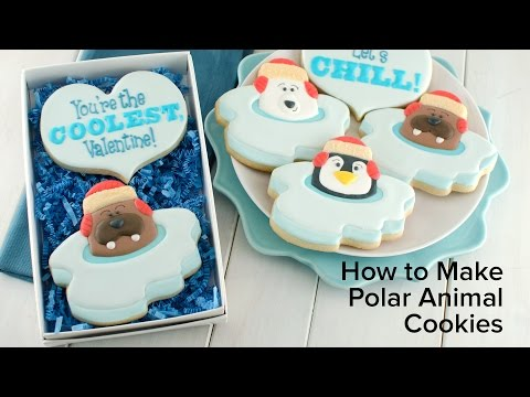 How to Make Polar Animal Cookies