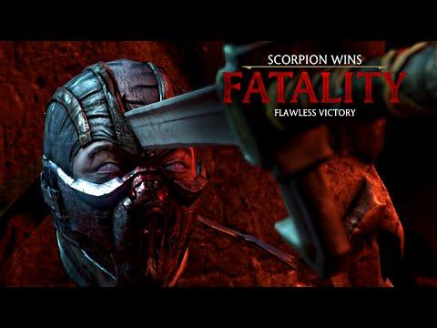 Mortal Kombat X Scorpion Who S Next Fatality Hd 60fps Mkx
