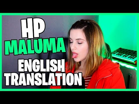 HP - Maluma English  Translation - Cover English  Subtitles  SUZY
