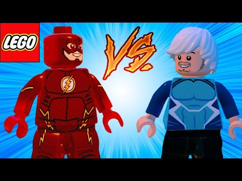LEGO Marvel Vingadores (Avengers) The Flash VS Mercúrio em Briga de Herois