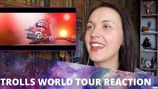 Trolls World Tour Official Trailer Reaction