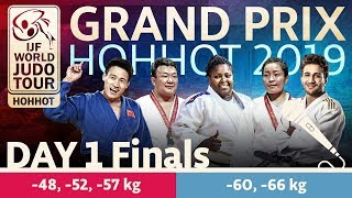Judo Grand-Prix Hohhot 2019: Day 1 - Final Block