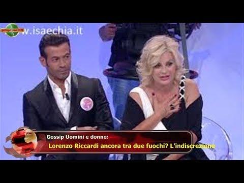 Gossip Uomini e donne:  Lorenzo Riccardi ancora tra due fuochi? L'indiscrezione