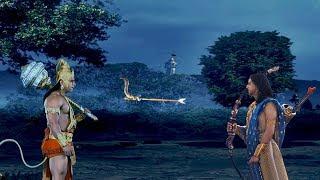 हनुमान और अंगराज कर्ण का | प्रलयंकारी युद्ध | Hanuman Vs Angraj Karna