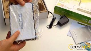 3G/3.75G Wireless N Router TL-MR3420 TP-Link - Unboxing by www.geekshive.com