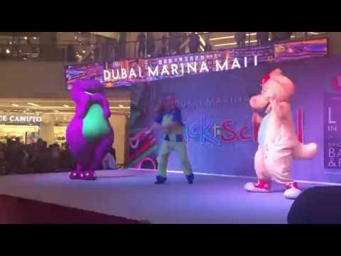 The Back to School Barney Show, Marina Mall, Dubai