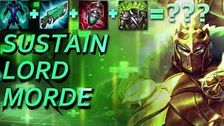 Sustain Lord Morde - INSANE HEALING!