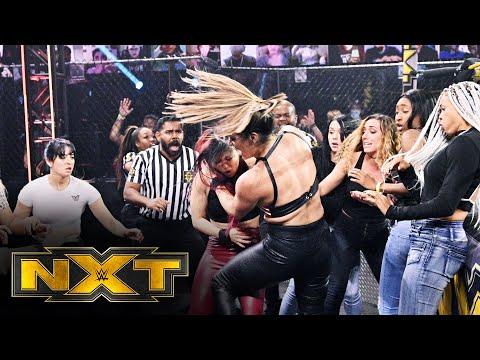 Io Shirai and Raquel González's wild brawl: WWE NXT, March 31, 2021