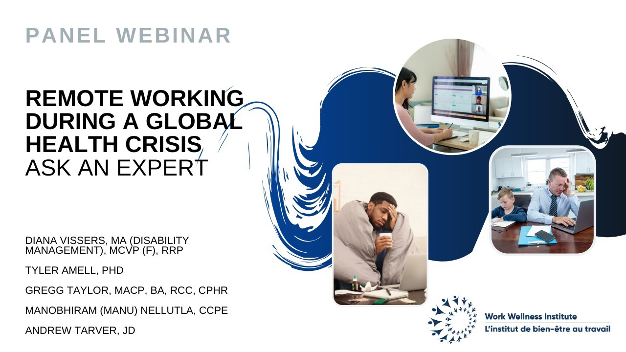 Remote Working During a Global Health Crisis - Ask an Expert