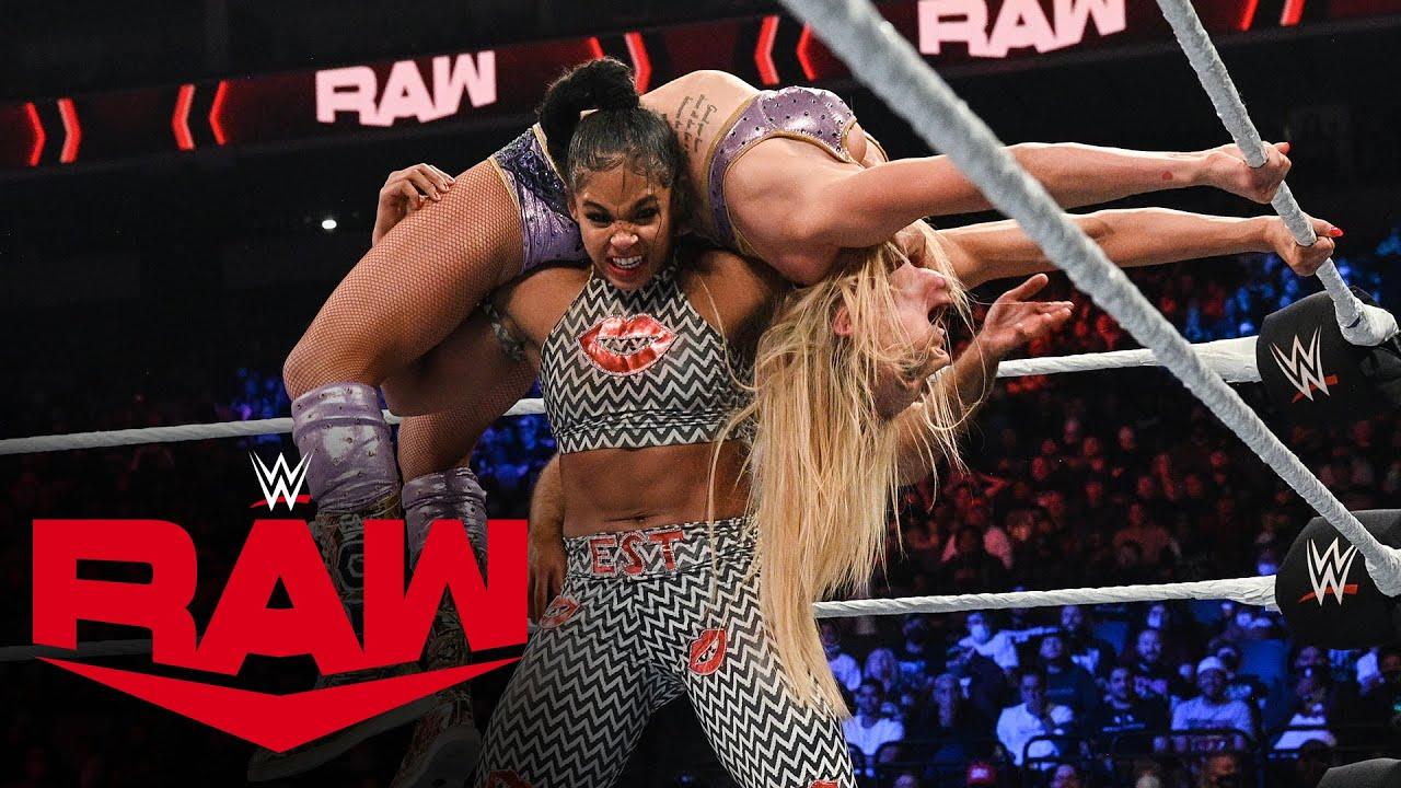 Download Charlotte Flair vs. Bianca Belair – Raw Women's Championship Match: Raw, Oct. 18, 2021