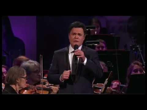 "Donny Osmond & Nathan Pacheco Sing ...""The Prayer"""