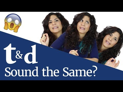 Flap T & Flap D (why T And D Sound The Same) | American Accent