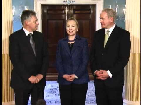 Secretary Clinton Delivers Remarks With Northern Ireland Leaders