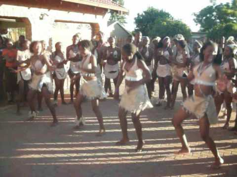 South African dance 2012