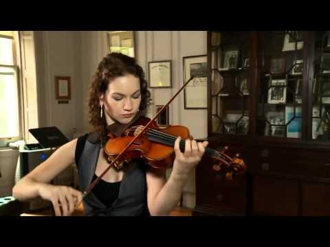 Hilary Hahn   Bach Sarabande HD